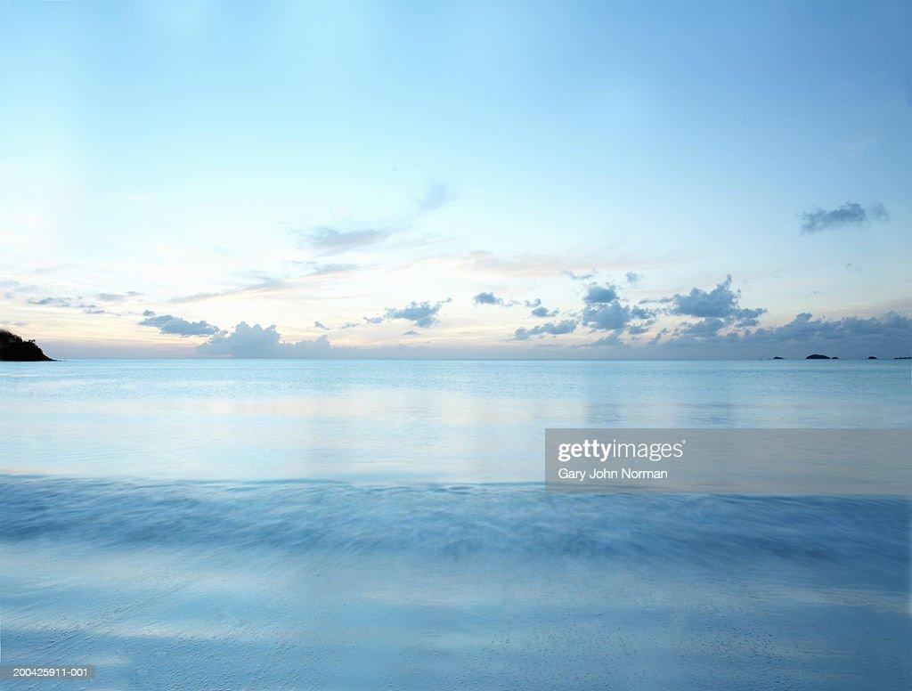 Ocean, sunset : Stock Photo