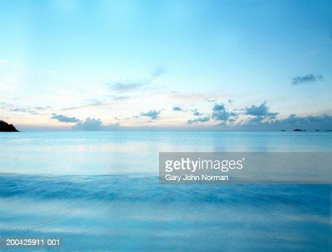 Ocean, sunset : Stock-Foto