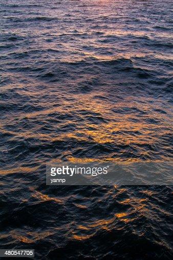 Textura al mar : Foto de stock