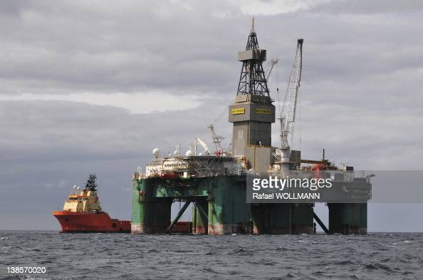 Ocean Ultra deepwater semi submersible rig Leiv Eiriksson is starting to test the Darwin East prospect It will be there for 45 days estimates to find...