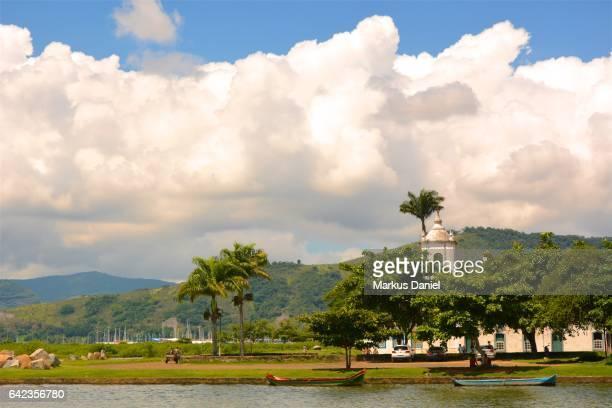 Ocean view of Town of Paraty, Rio de Janeiro