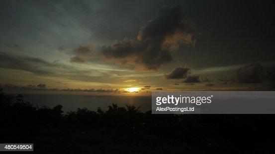 Ocean View Sunset : Stock Photo