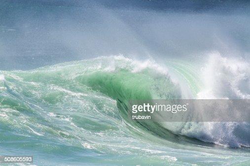 Oceano Onda : Foto de stock