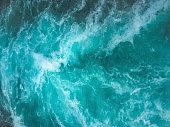 Ocean waves texture background