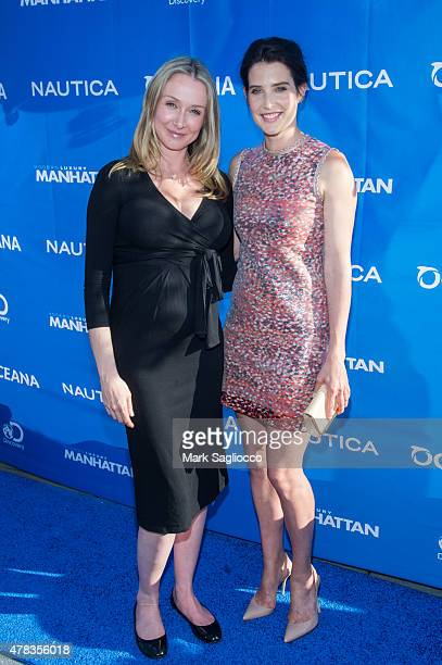 Oceana Advisor Alexandra Cousteau and Actress Colbie Smulders attend the 2015 Nautica Oceana City Sea Party at the Gansevoort Park Avenue on June 24...