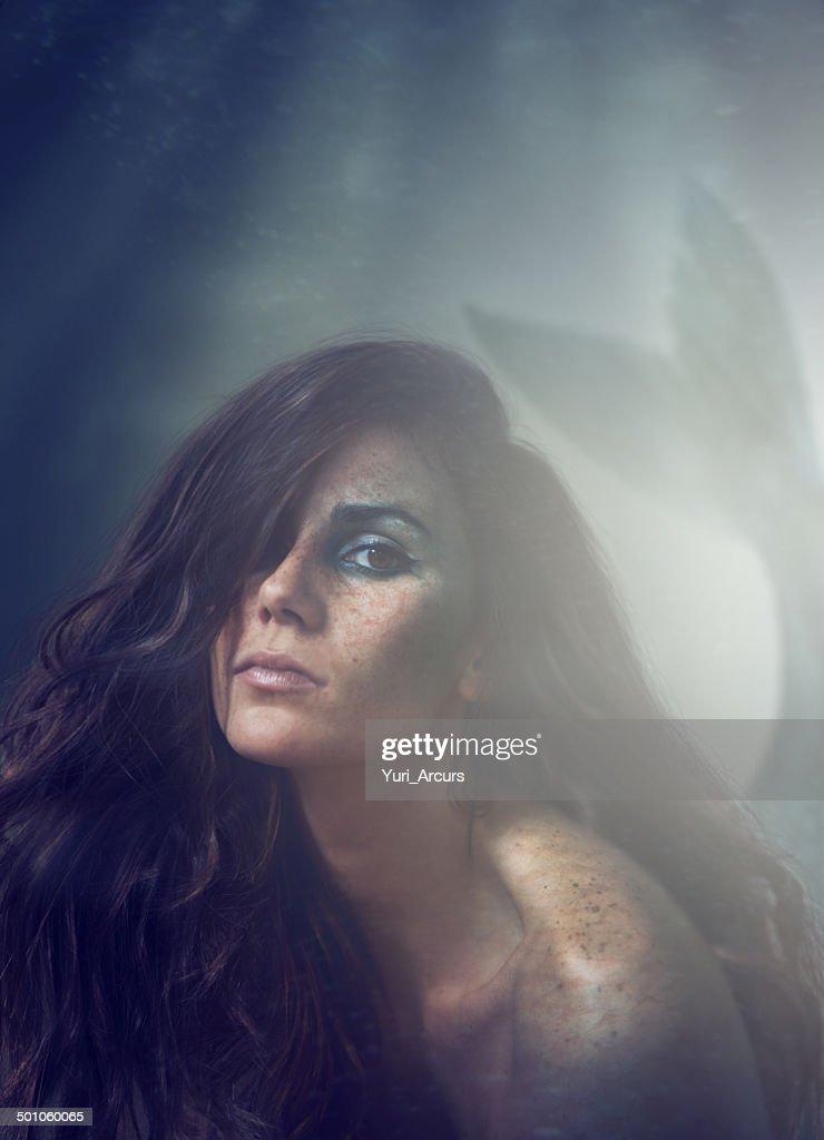 Ocean's daughter : Stock Photo