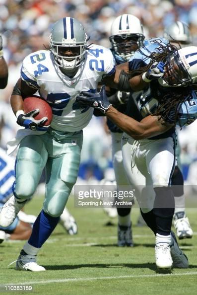 Barber Dallas Cowboys : Oct 10 2006 Nashville TN USA Dallas Cowboys MARION BARBER against ...