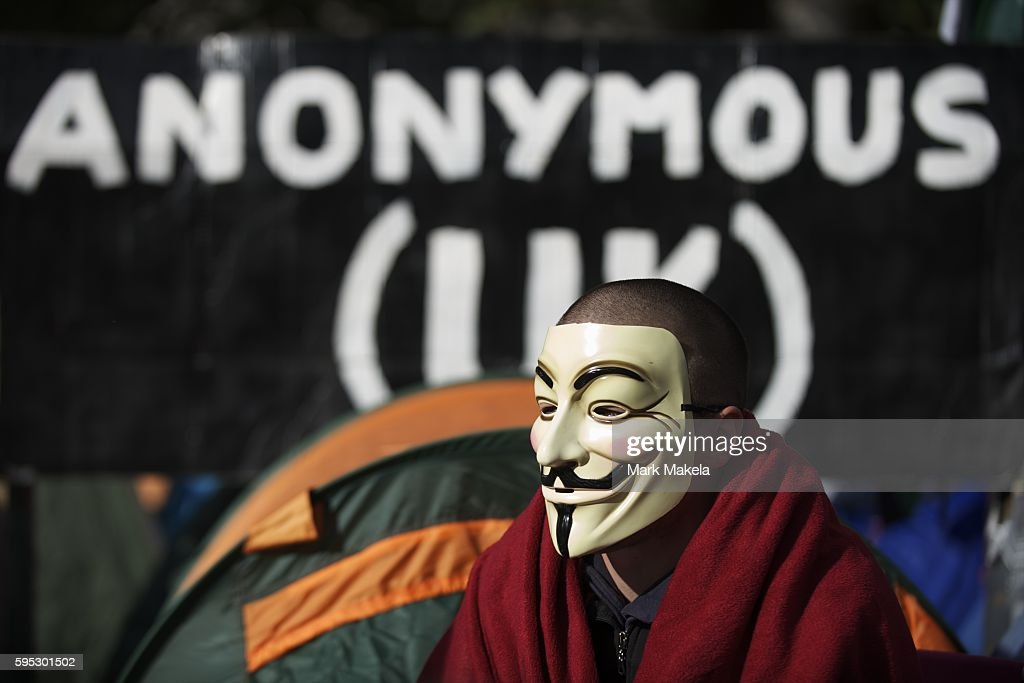 Oct 19 2011 London England UK Hundreds of protestors camp outside St Paul's Cathedral as part of Occupy London one of many such assemblies of...