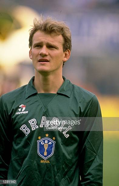 Portrait of Claudio Taffarel of Brazil before a Friendly match against Italy at the Renato Dall''Aria Stadium in Bologna Italy Brazil won the match...
