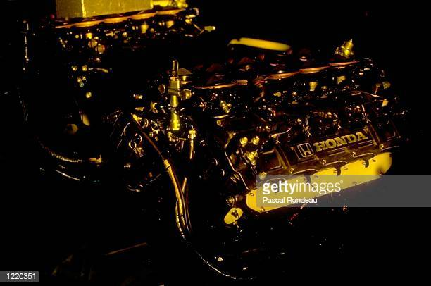 General View of a Honda engine before the Japanese Formula One Grand Prix at the Suzuka circuit in Japan Mandatory Credit Pascal Rondeau/Allsport