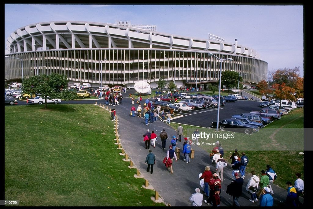 General view of RFK Stadium home of the Washington Redskins and the DC United in Washington DC Mandatory Credit Rick Stewart /Allsport