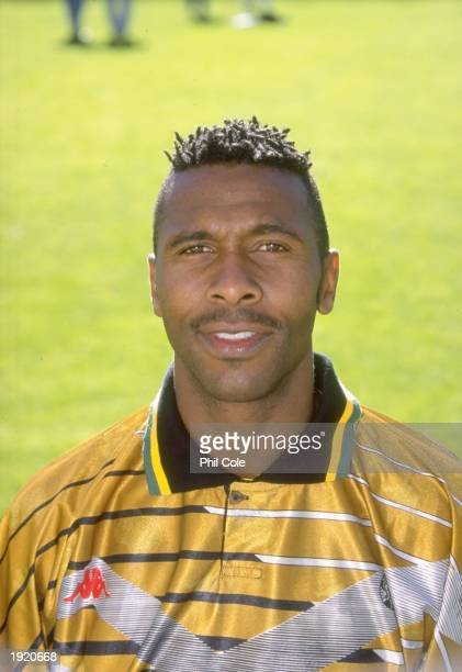 Portrait of Lucas Radebe of South Africa before a Friendly match against France in France Mandatory Credit Phil Cole/Allsport