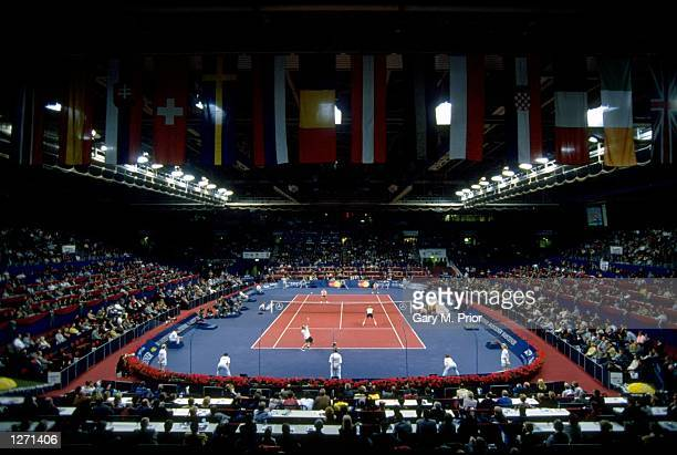 General view of the Eurocard Open in Stuttgart Germany Mandatory Credit Gary M Prior/Allsport