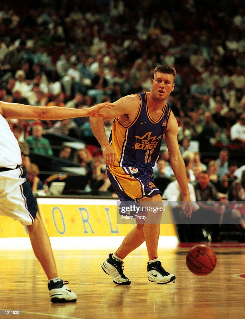 Aaron Trahair of Sydney Kings in action during the match between SydneyKings v Canberra Cannons at the Superdome,Homebush Australia.Sydney Kings won 98-76. Mandatory Credit: Adam Pretty/ALLSPORT