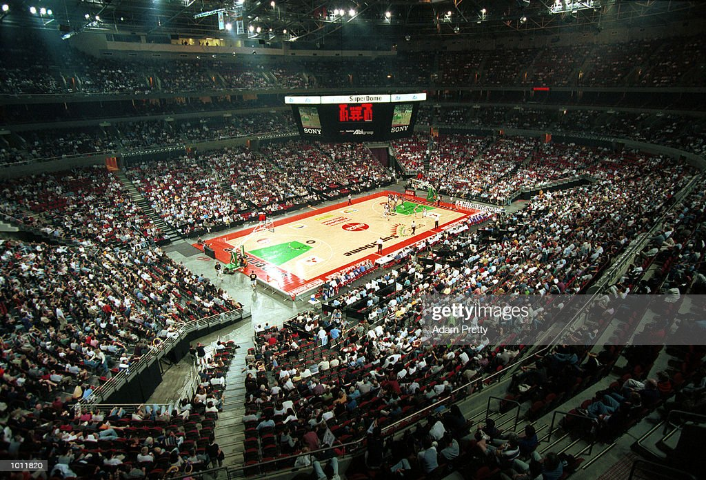 General View during the match between SydneyKings v Canberra Cannons at the Superdome,Homebush Australia.Sydney Kings won 98-76. Mandatory Credit: Adam Pretty/ALLSPORT