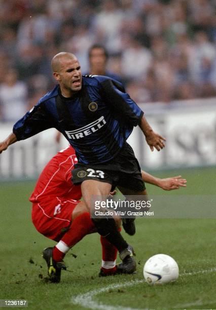 Luigi Di Biagio of Inter Milan in action during the Serie A match against Piacenza at the San Siro Stadium in Milan Italy Inter won 21 Mandatory...