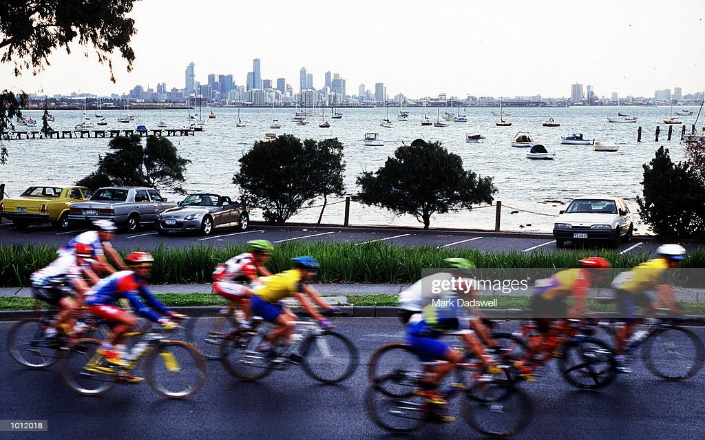 The 265km Melbourne to Warrnambool Cycling Classic got under way from The Strand at Williamstown, Melbourne, Victoria, Australia. Mandatory Credit: Mark Dadswell/ALLSPORT