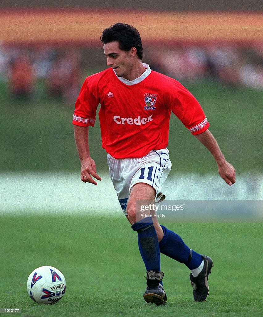 Tom Pondeljak of United in action during the match between Sydney United v Auckland Kingz at the Sydney United sports centre,Sydney Australia.Sydney United won 2-1. Mandatory Credit: Adam Pretty/ALLSPORT