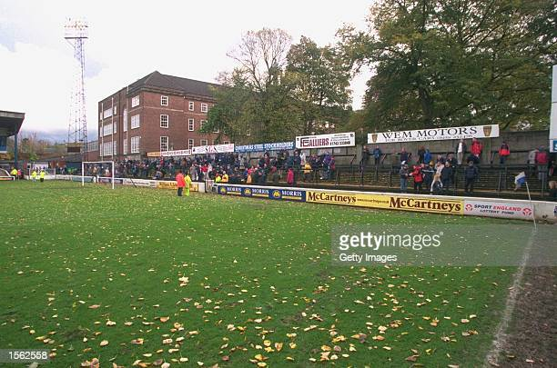 General view of the stadium during the Nationwide League Division Three match between Shrewsbury Town and Torquay United at Gay Meadow in Shrewsbury...