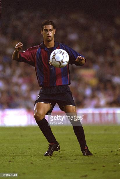 Gerard of Barcelona in action during the Spanish Primera League match between Barcelona and Mallorca in Barcelona Spain DIGITAL IMAGE Mandatory...