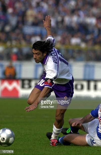 Manuel Rui Costa of Fiorentina during the Brescia v Fiorentina Serie A match played at the Mario Rigamonti stadium in Brescia Mandatory Credit Grazia...
