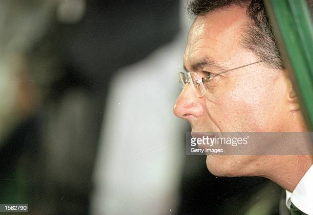 Sporting Lisbon coach Augusto Inacio pictured during the UEFA Champions League match against Spartak Moscow at the Estadio Jose Alvalade in Lisbon...