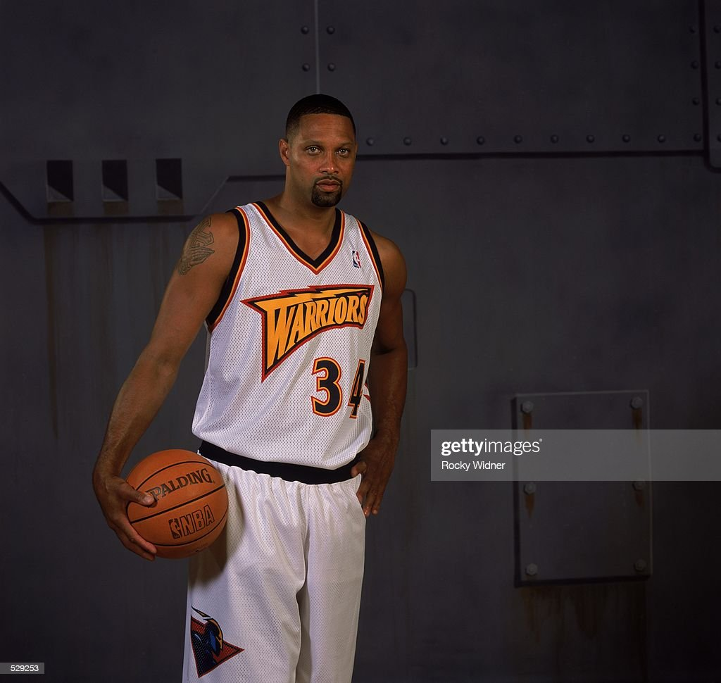 Chris Mills of the Golden State Warriors poses for a studio portrait on Media Day in Oakland California NOTE TO USER It is expressly understood that...
