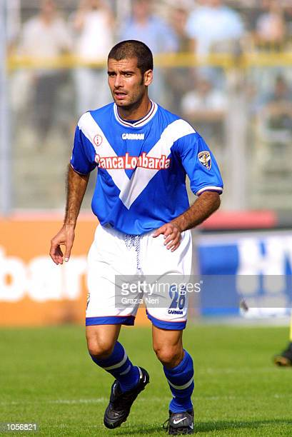 Guardiola of Brescia in action during the Serie A 7th Round League match between Brescia and Chievo played at the M Rigamonti Stadium Brescia Italy...