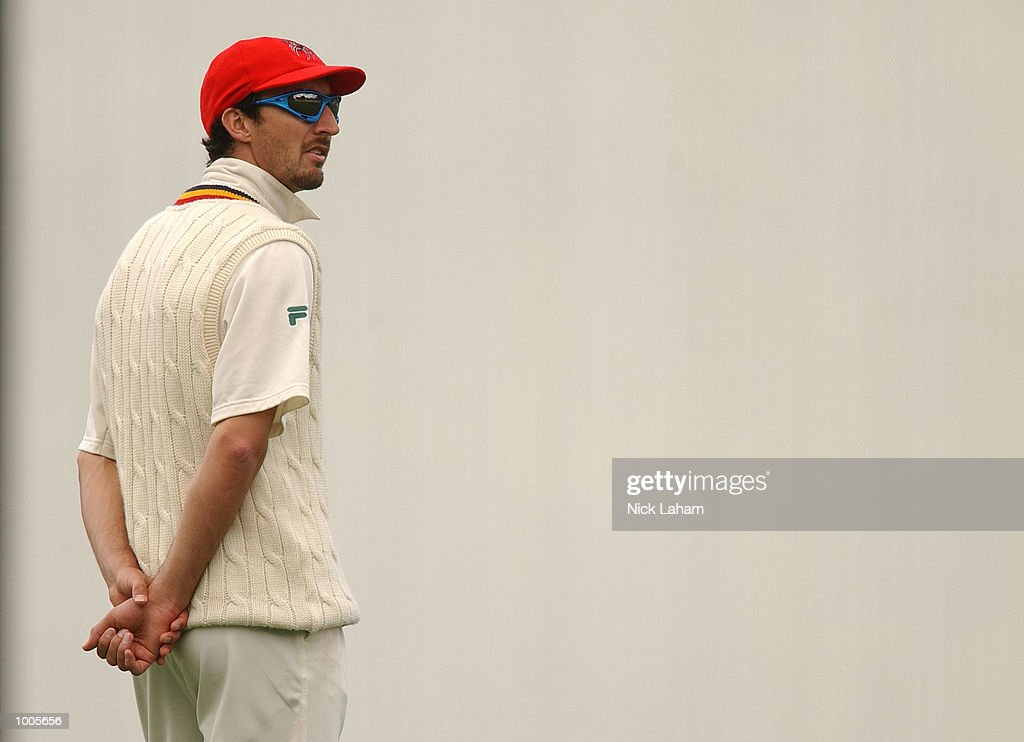 Jason Gillespie of South Australia in action during day two of the Pura Milk Cup match between the New South Wales Blues and the South Australia Redbacks held at the Sydney Cricket Ground, Sydney, Australia. DIGITAL IMAGE Mandatory Credit: Nick Laham/ALLSPORT