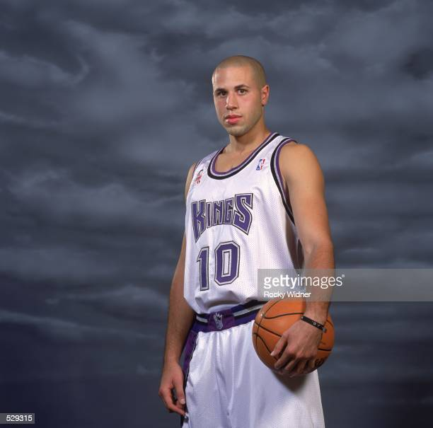 Mike Bibby of the Sacramento Kings poses for a studio portrait on Media Day in Sacramento California NOTE TO USER It is expressly understood that the...