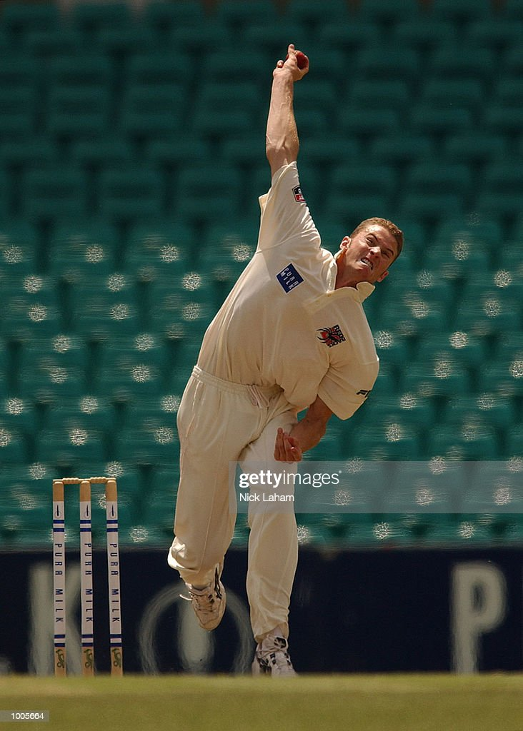 Paul Rofe of South Australia in action during day two of the Pura Milk Cup match between the New South Wales Blues and the South Australia Redbacks held at the Sydney Cricket Ground, Sydney, Australia. DIGITAL IMAGE Mandatory Credit: NickLaham/ALLSPORT
