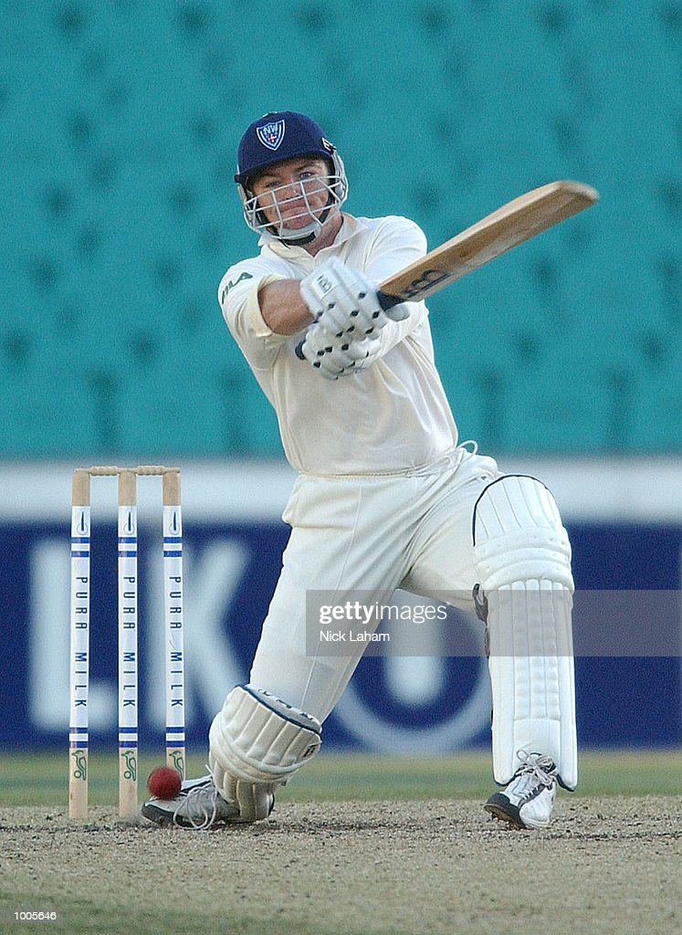 Stuart MacGill of NSW in action during day two of the Pura Milk Cup match between the New South Wales Blues and the South Australia Redbacks held at the Sydney Cricket Ground, Sydney, Australia. DIGITAL IMAGE Mandatory Credit: Nick Laham/ALLSPORT