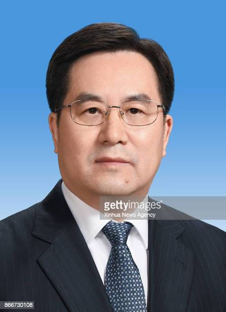 Ding Xuexiang is elected as a member of the Political Bureau of the 19th Central Committee of the Communist Party of China on Oct 25 2017