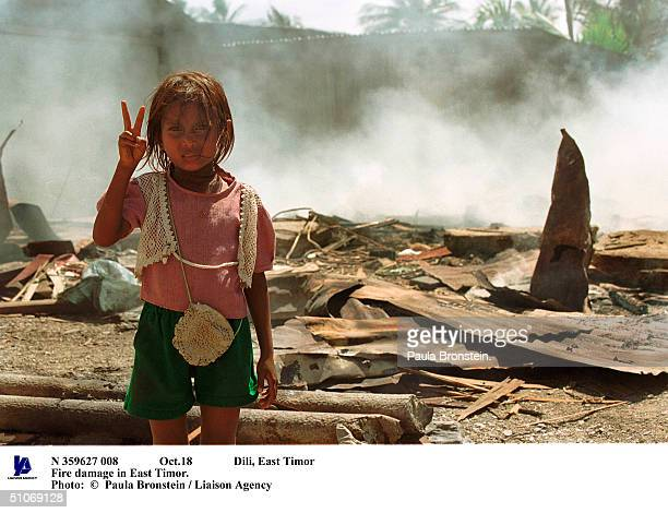 Oct18 Dili East Timor Fire Damage In East Timor