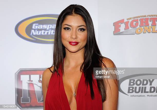 Octagon Girl Arianny Celeste arrives at the Fighters Only World Mixed Martial Arts Awards 2011 at the Palms Casino Resort November 30 2011 in Las...