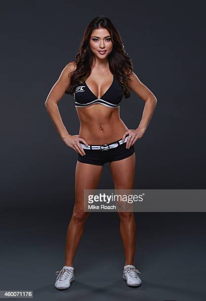 Octagon Girl Arianny Celeste poses for a portrait backstage during the UFC 181 event inside the Mandalay Bay Events Center on December 6 2014 in Las...