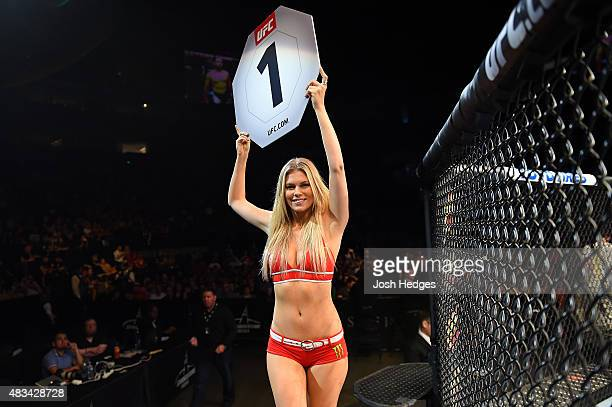 Useful message Ufc ring girls chrissy blair question
