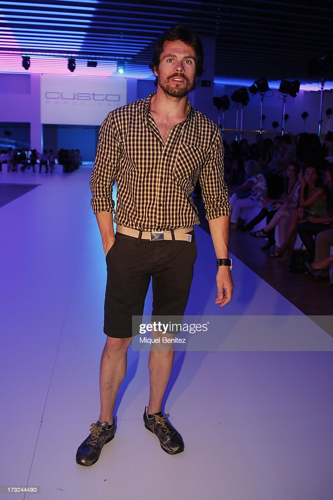 Octavi Pujades attends the Custo Dalmau's Spring-Summer 2014 Collection during 080 Barcelona Fashion Week on July 10, 2013 in Barcelona, Spain.