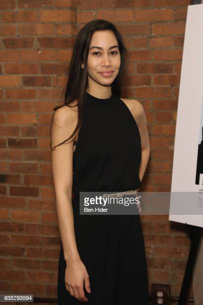 Octavia ChavezRichmond attends the Special Screening Of FilmRise's 'From Nowhere' at Tribeca Screening Room on February 13 2017 in New York City