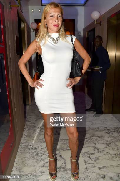 Octavia McKinney attends Jean Shafiroff George Wayne and Hillary Latos Host Party for Photo Butler at Rose Hill on September 11 2017 in New York City