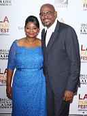 Octavia Spencer and Forest Whitaker arrive at the 2013 Los Angeles Film Festival 'Fruitvale Station' premiere held at Regal Cinemas LA LIVE Stadium...