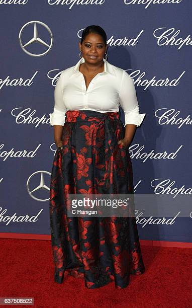 Octavia Spencer arrives at the 28th Annual Palm Springs International Film Festival Film Awards Gala at Palm Springs Convention Center on January 2...