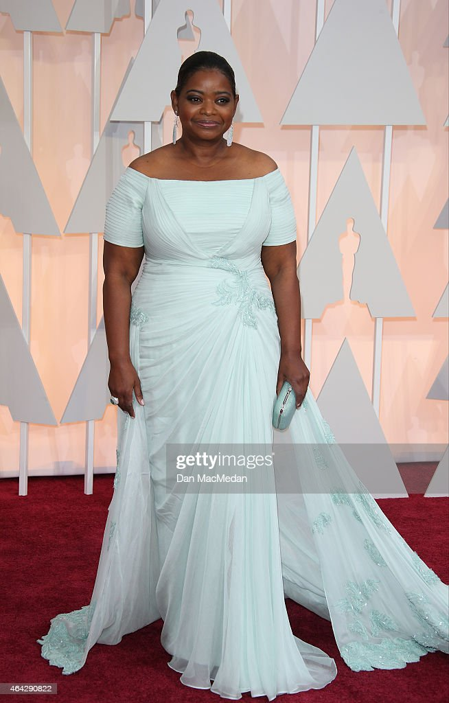 Octavia Spencer arrives at the 87th Annual Academy Awards at Hollywood Highland Center on February 22 2015 in Los Angeles California