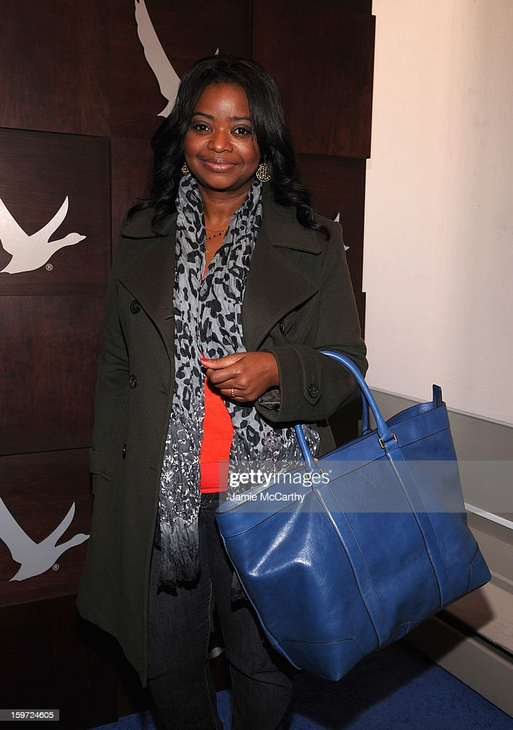 <a gi-track='captionPersonalityLinkClicked' href=/galleries/search?phrase=Octavia+Spencer&family=editorial&specificpeople=2538115 ng-click='$event.stopPropagation()'>Octavia Spencer</a> at the Grey Goose Blue Door on January 19, 2013 in Park City, Utah.