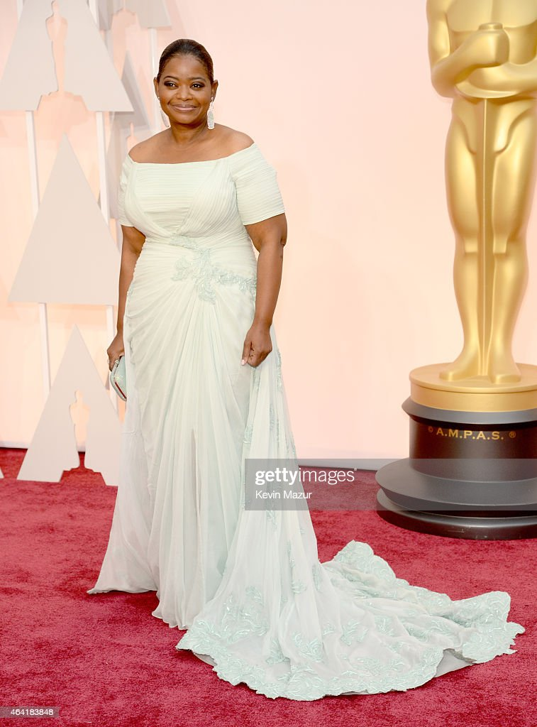 Octavia Spencer attends the 87th Annual Academy Awards at Hollywood Highland Center on February 22 2015 in Hollywood California