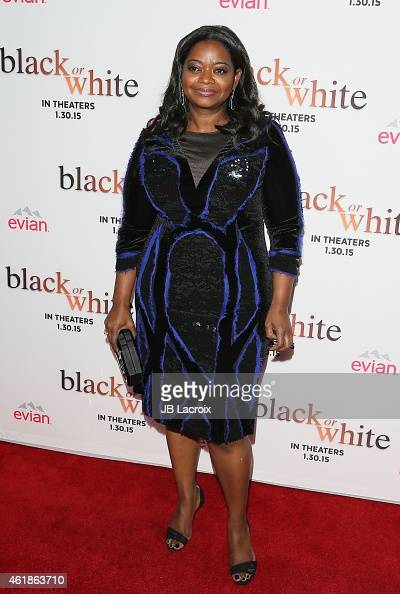 Octavia Spencer attends the Los Angeles premiere of 'Black or White' held at Regal Cinemas on January 20 2015 in Los Angeles California