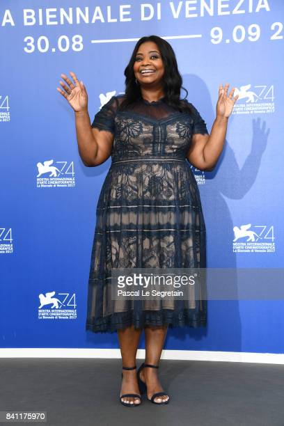 Octavia Spencer attends the 'The Shape Of Water' photocall during the 74th Venice Film Festival on August 31 2017 in Venice Italy
