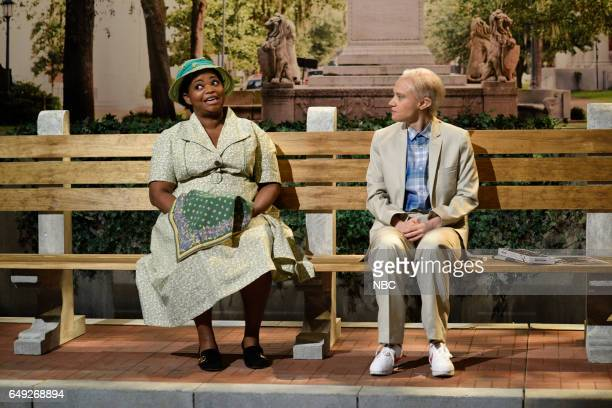 LIVE 'Octavia Spencer' Episode 1719 Pictured Host Octavia Spencer as Minny Jackson Kate McKinnon as Attorney General Jeff Sessions during the 'Jeff...