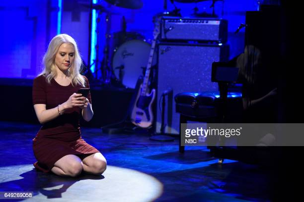 LIVE 'Octavia Spencer' Episode 1719 Pictured Kate McKinnon as Kellyanne Conway on March 4 2017