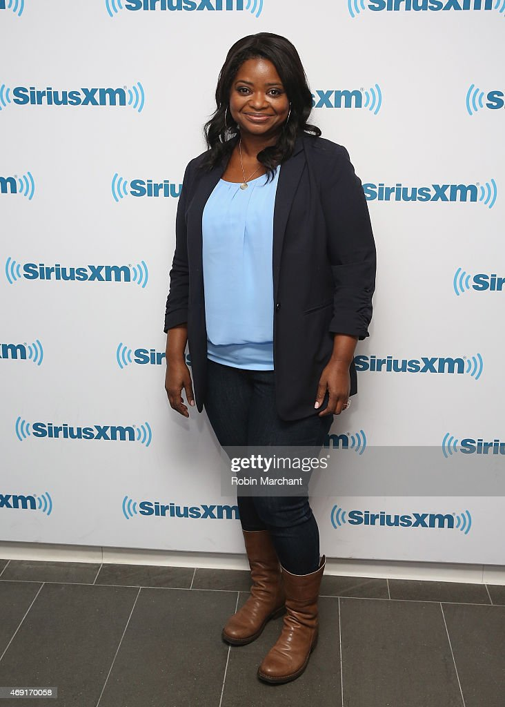Octavia Spencer visits at SiriusXM Studios on April 10 2015 in New York City